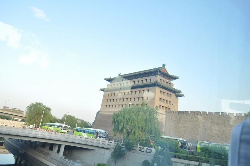 正面,德勝門,北京