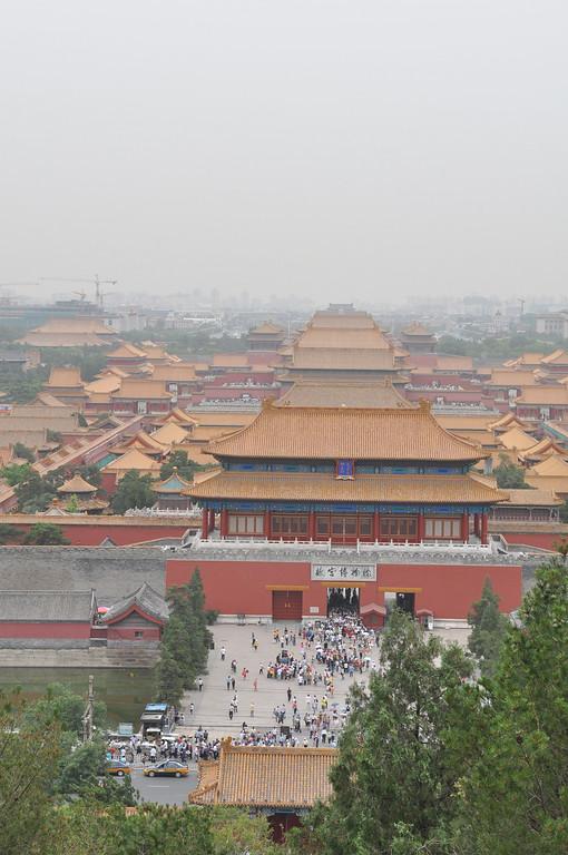 景山公園,北京