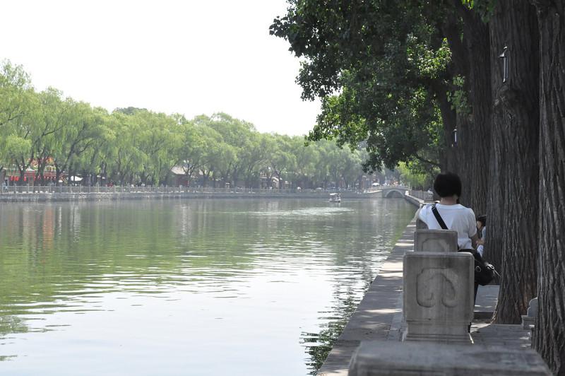 護城河,胡同遊,北京