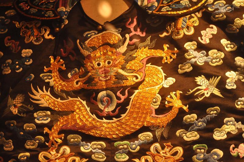 京劇龍袍,首都博物館,北京