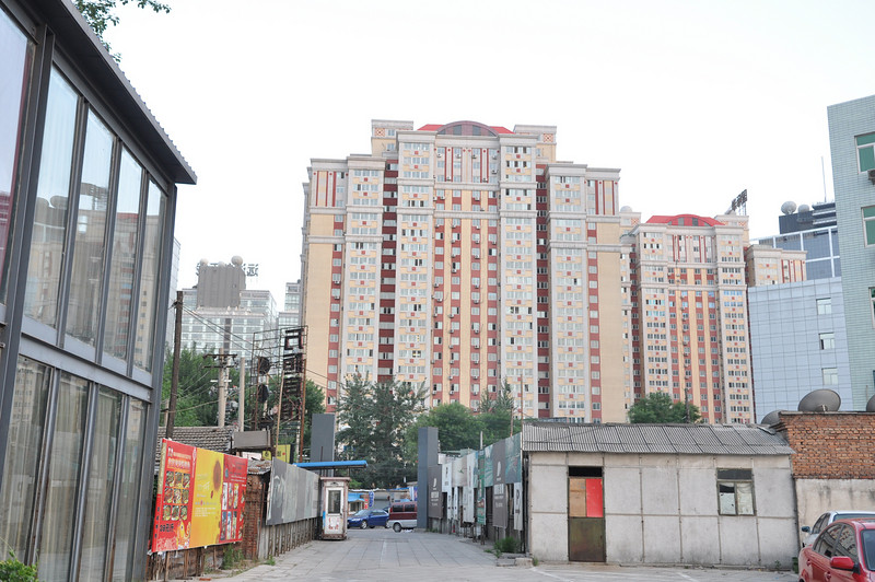Skyline from Restaurant, Beijing
