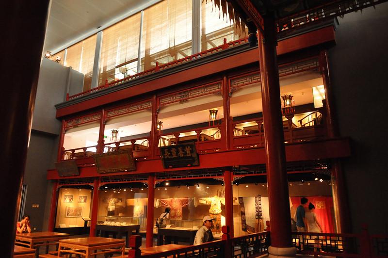 京劇棚,首都博物館,北京