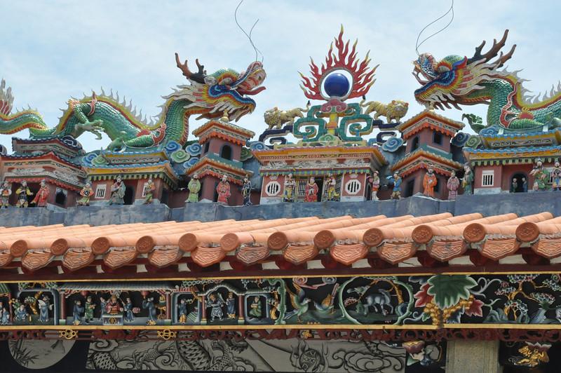 Roof, Buk Tay Temple 北帝廟, Cheung Chau