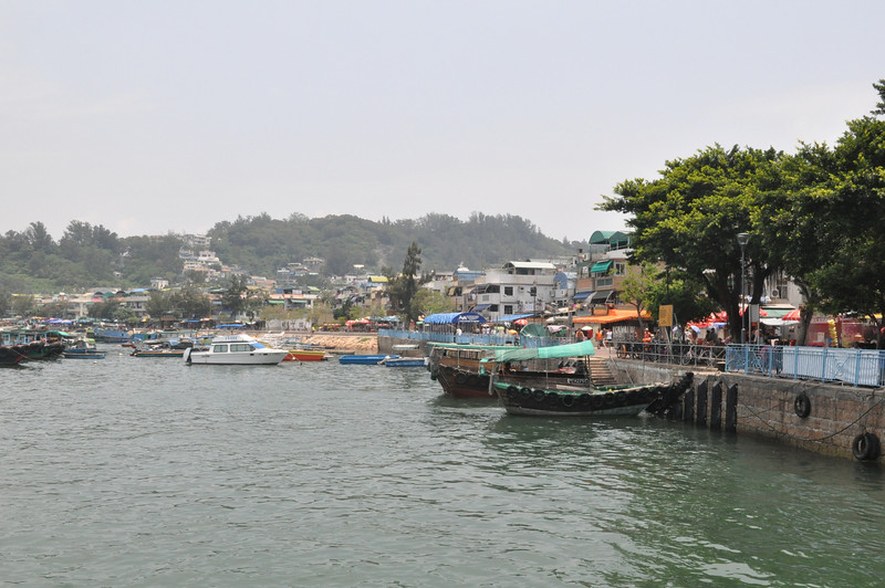 View at ferry near Cheung Chau Terminal