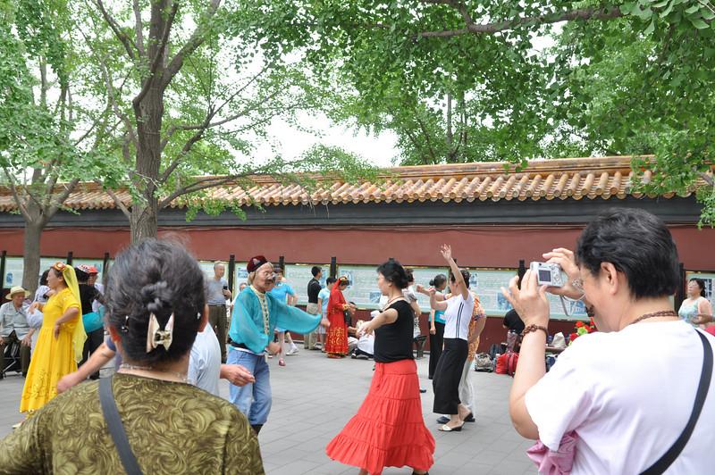 舞,景山公園,北京