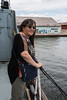 Destroyer HMCS Haida National Historic Site. Denise Metatawabin
