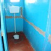 Toilet (Water Closet) facilities. This is the girl's bathroom. Just like if I was outdoors, I squatted to pee!