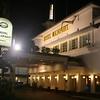 Late night return to Surabaya's Hotel Majapahit.