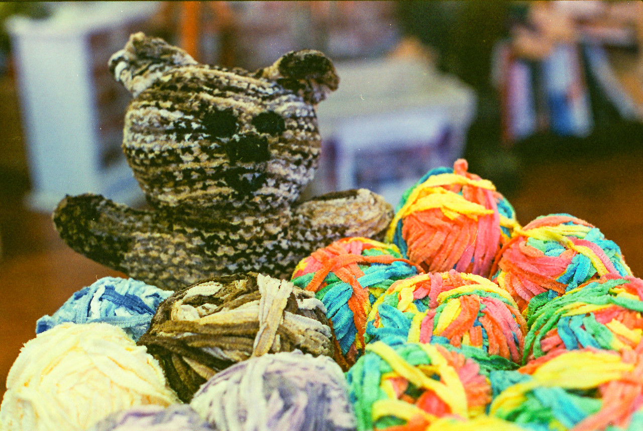 Yarn bear - I'll keep Blue thanks