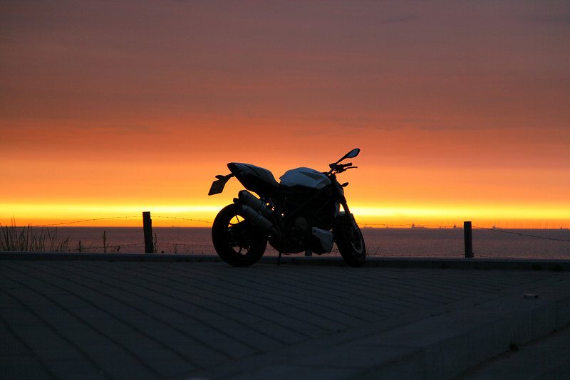 As a former motorbikeowner, couldn't resist taking this shot..
