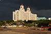 Storm approaching Hotel Nacional De Cuba
