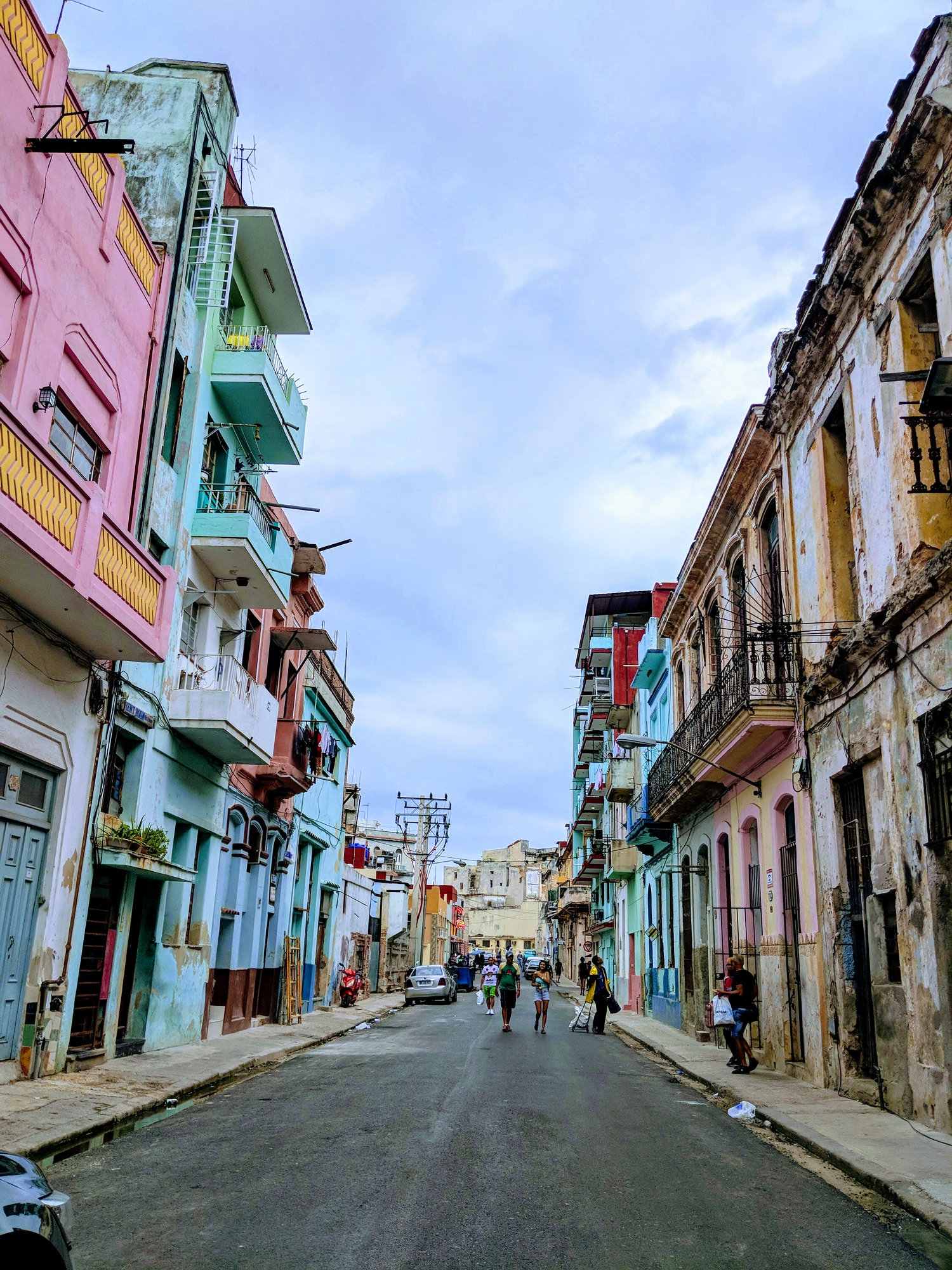 The streets of Old Havana, Cuba.