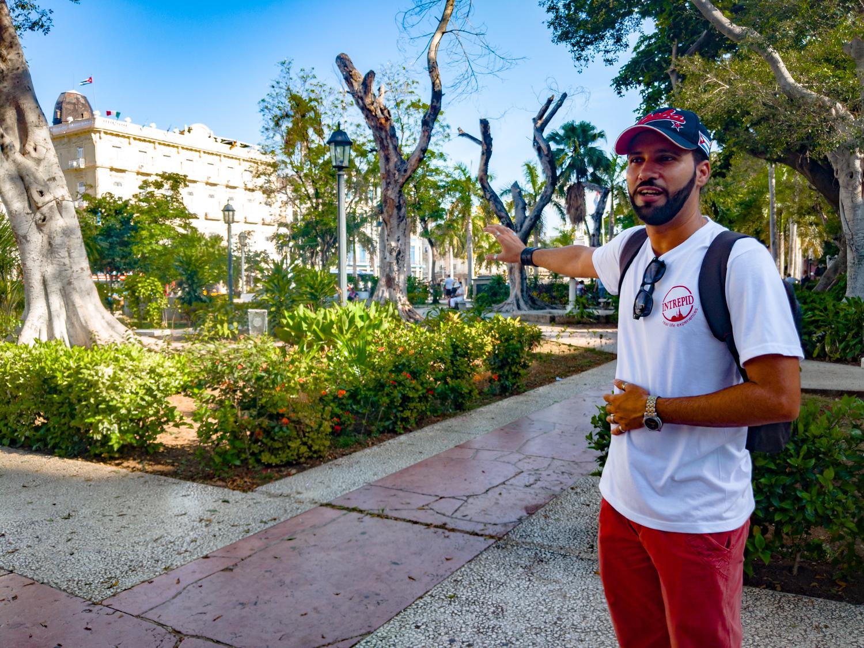 Intrepid Travel Cuba Explorer Tour Guide Osi in Havana