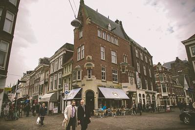 Two Men Wander in the Hague