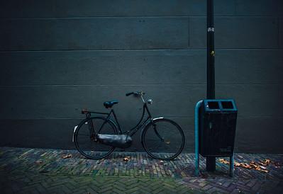 A Bike Against the Wall