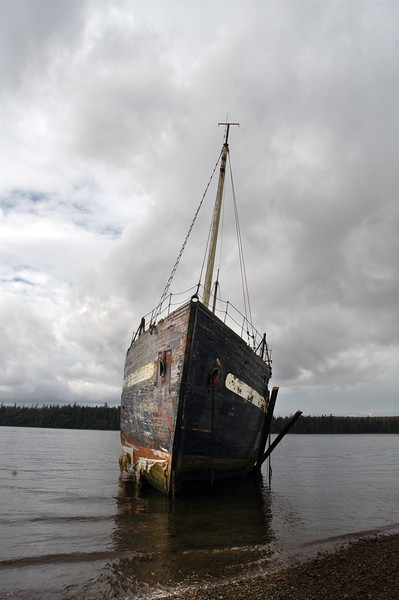 Shipwreck Haida Gwaii (formerly known as the Queen Charlotte Islands) in British Columbia<br /> <br /> <br /> <br /> Travel Stock Photography for the Nature Stock Photography Library by Professional Photographer Christina Craft