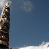 Haida Gwaii Museum Totem Pole in Skidegate Haida Gwaii Islands  - Nature Stock Image by Professional Nature Photographer Christina Craft