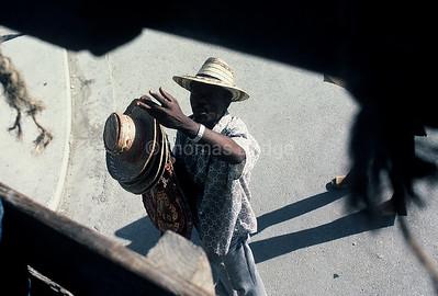 Street vendor, Port-au-Prince.