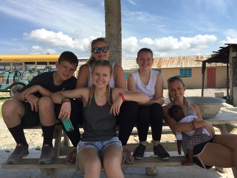 Our kids happy to be at the orphanage....