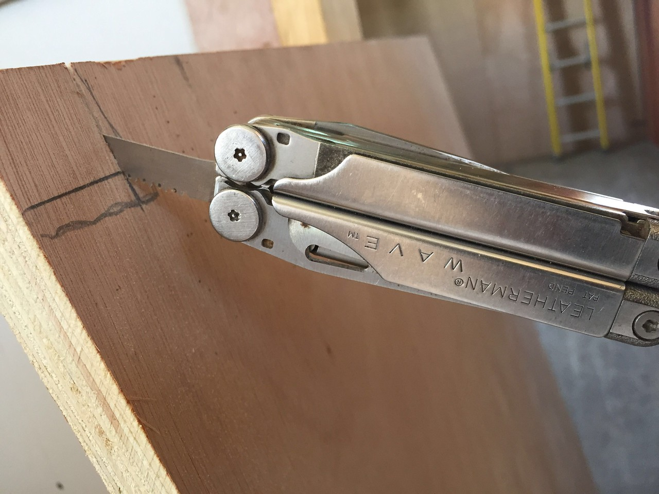 My trusty leatherman WAVE. Serving it's second tour in Haiti.<br /> An invaluable tool in Haiti!