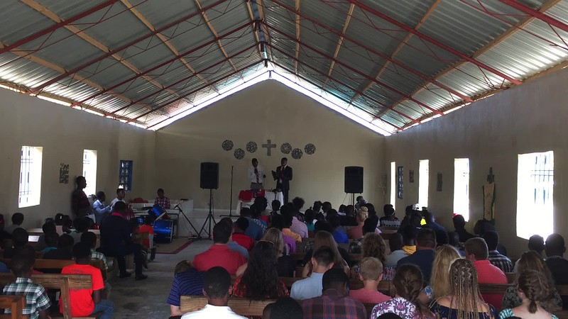 DAY 8<br /> *Video-Click to play*<br /> Sunday morning church service at the orphanage