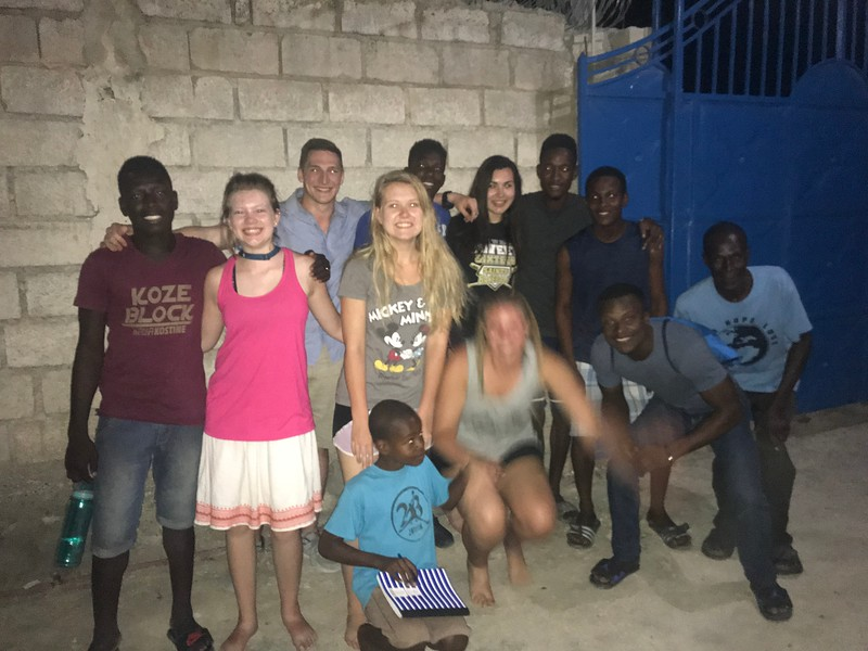 DAY 9<br /> Our last night in Haiti.<br /> At the Team House.<br /> <br /> *Photo credit: