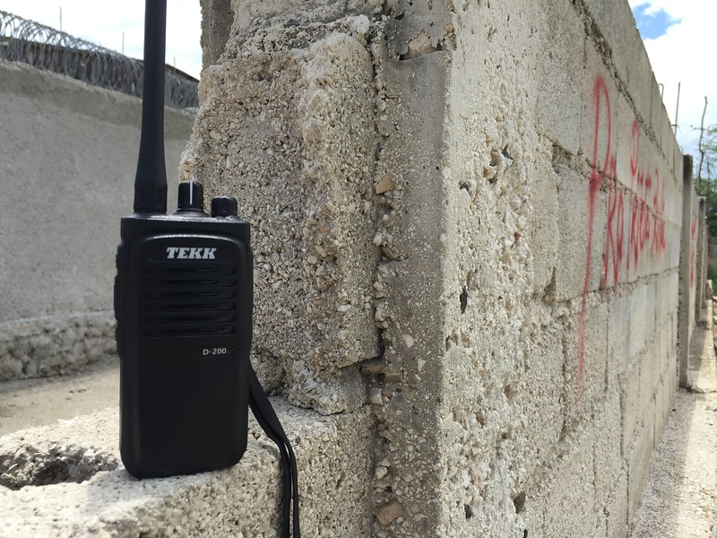 TEKK D-200u digital radio.