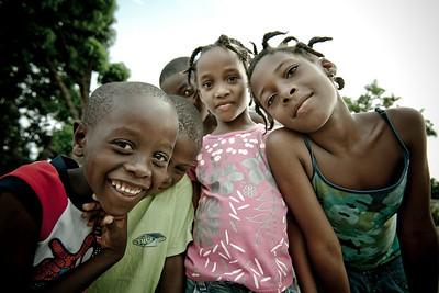 Street kids. Carrefour, Haiti