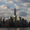 the Freedom Tower nears completion