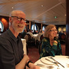 Ves & Nancy aboard ship