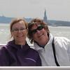 Nancy & Judi<br /> Lady Liberty in the background