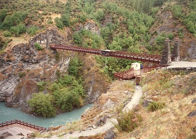 Bungee Bridge, New Zealand