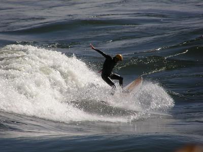 Newport , RI surfer