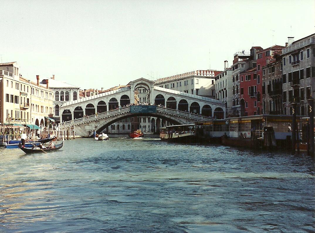 Rialto Bridge - Venice, Itlay