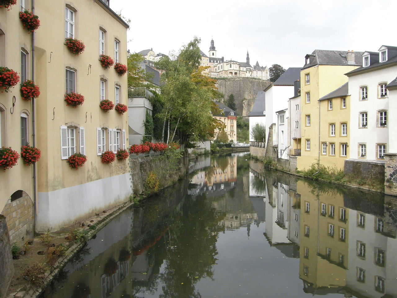 Luxembourg, The Grund