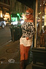 Cindy looking as beautiful as I can remember - Halloween in New Orleans - Photo by Pat Bonish