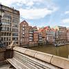 Die sieben Schwestern - Alte Häuser in Hamburg