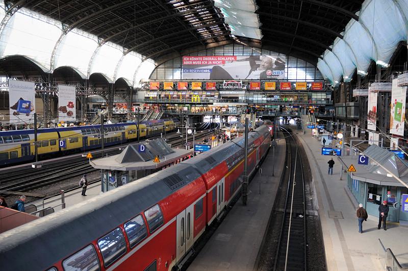 2011-03-07. Hamburg hauptbahnhof. Hamburg [DEU]