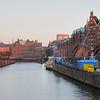 2011-03-08.  Brorenovering, Speicherstadt. Hamburg [DEU]