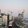 2011-03-07. I väntan på den blå timmen/stunden. Hamburg [DEU]