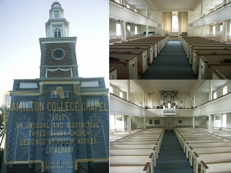 Hamilton college is near Rome, N.Y where I have often gone on business for the past 20 years