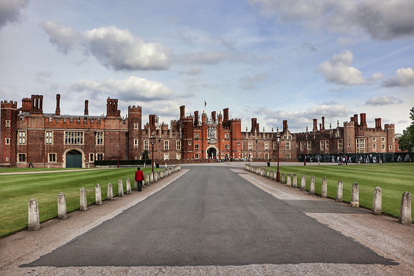 Hampton Court Palace June 2017