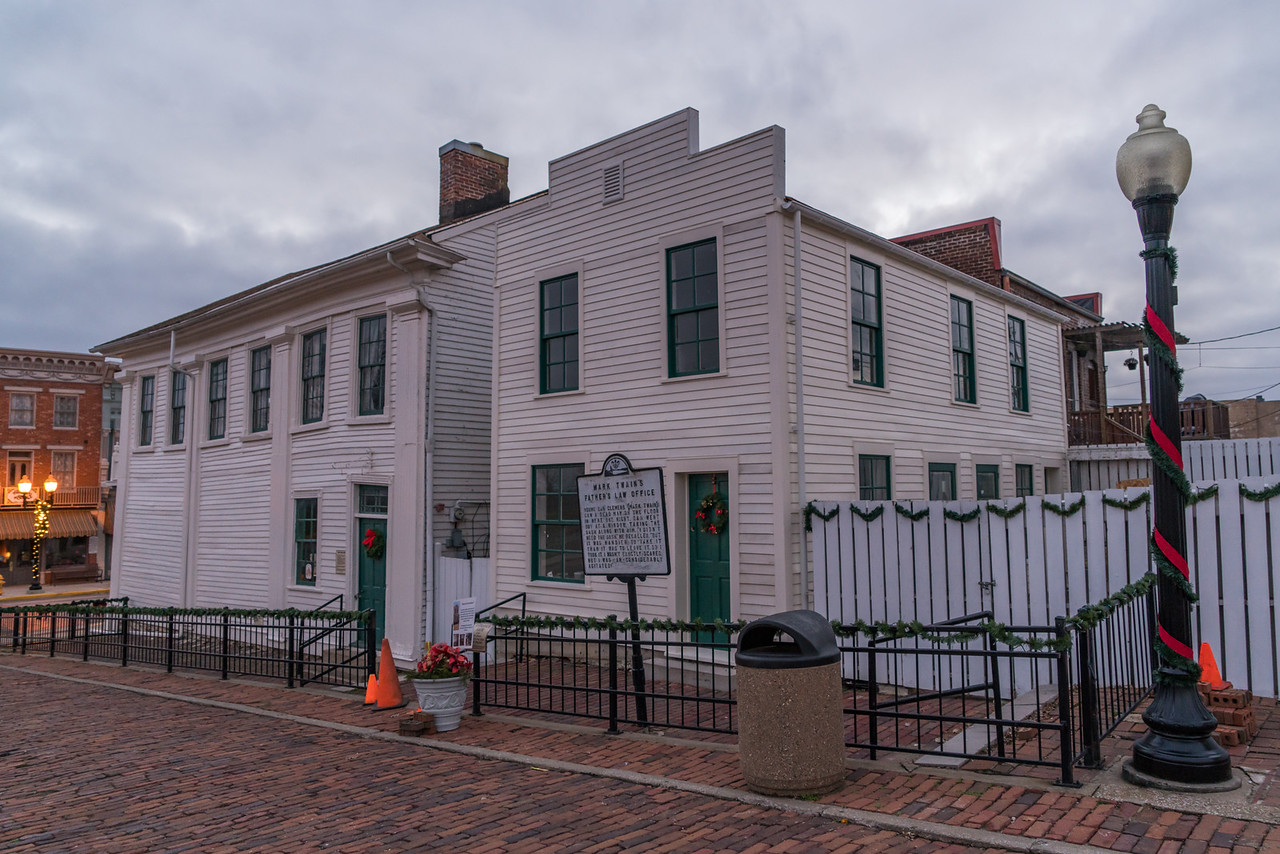 Mark Twain's Father's Law Office