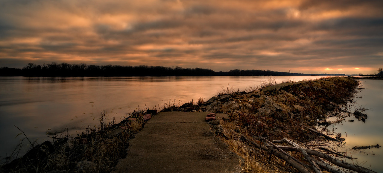 Mississippi River Sunrise