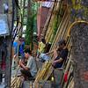 Bamboo Street --- Hanoi Old Quarter