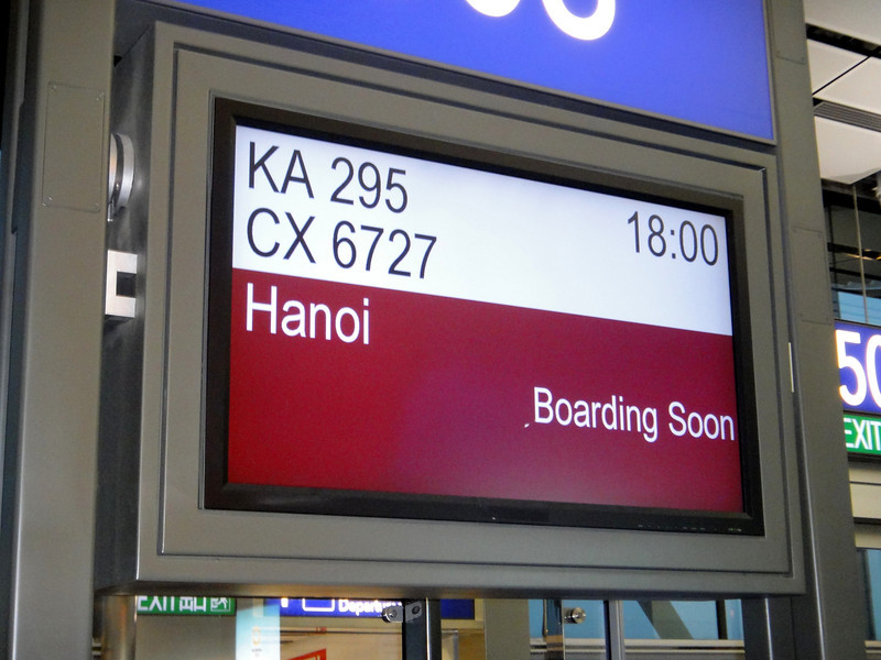 Off to Hanoi!