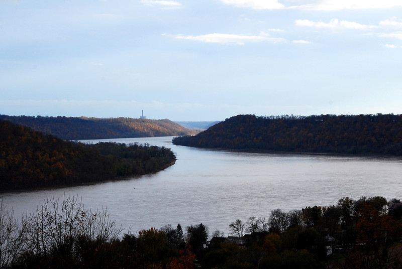The Ohio River - Hanover, IN