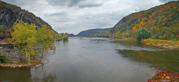 Merging of 2 rivers