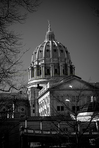 070172BW Capitol Dome