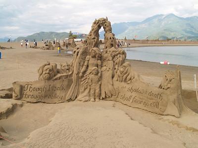 Harrison Lake Sand Castles-2006